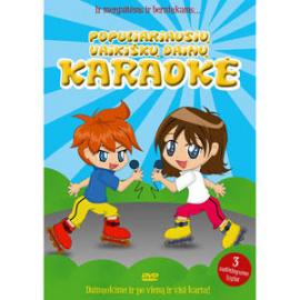 DVD Populiariausių vaikiškų dainų karaokė - 2