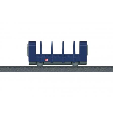 Medienos transportavimo vagonas