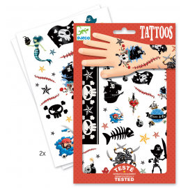 """Tatuiruočių rinkinys """"Piratai"""""""