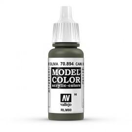 Akriliniai dažai - kamufliažinė tamsiai žalia