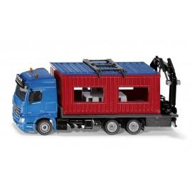 Mercedes-Benz Arocs su statybiniu konteineriu