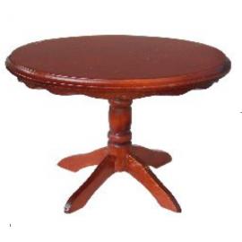 Apvalus valgomojo stalas