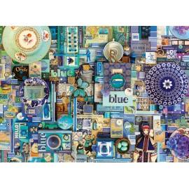 """Dėlionė S.Davies paveikslas """"Blue"""""""