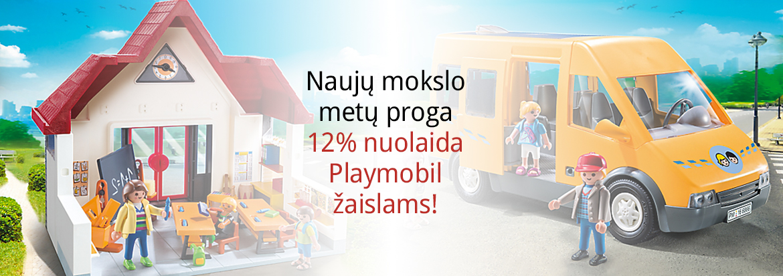 Nuolaida Playmobil