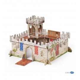 3D viduramžių riterių pilis