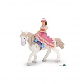 Raitelės ant žirgo figurėlė