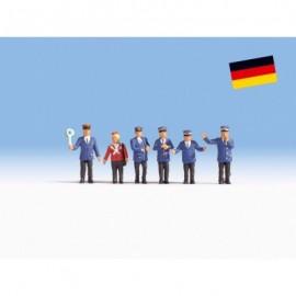 Vokietijos geležinkelių pareigūnai