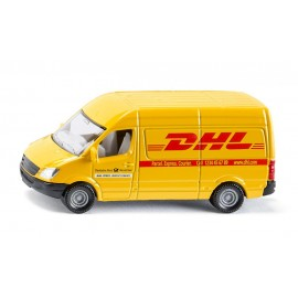 DHL siuntų automobilis