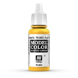 Akriliniai dažai - matinė geltona