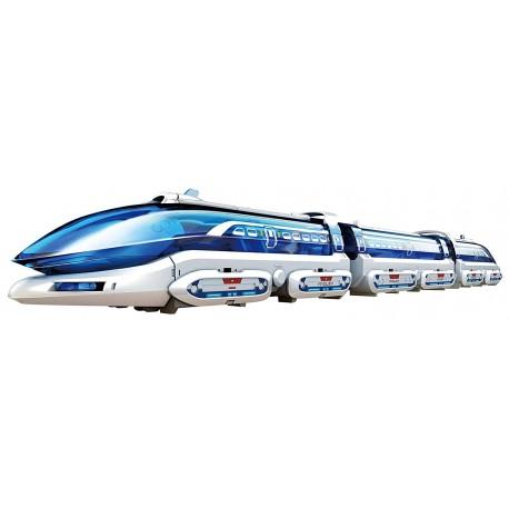 Konstruktorius - levituojantis traukinys