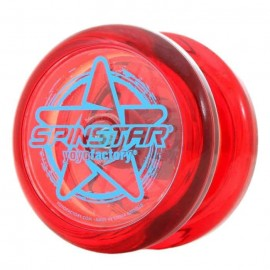 Raudonas YoYo Spinstar