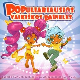 CD Populiariausios vaikiškos dainelės-2