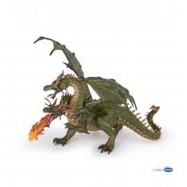 Dvigalvio drakono figūrėlė