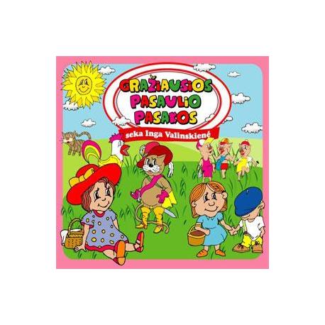 CD Gražiausios pasaulio pasakos