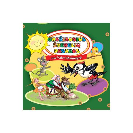 CD Gražiausios žvėrelių pasakos
