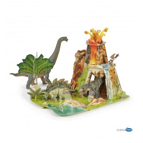 3D dinozaurų žemė