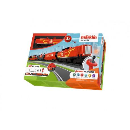 Pradinis ugniagesių traukinio rinkinys