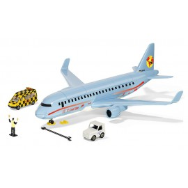Commercial aircraft with accessories