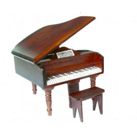 Grand piano with stool