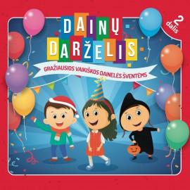 CD Dainų Darželis 2