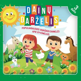 CD Dainų Darželis 3