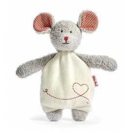 Mouse Robin Cherrystone Pillow