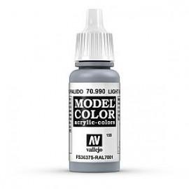 Akriliniai dažai - šviesiai pilka