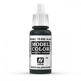Akriliniai dažai - juoda