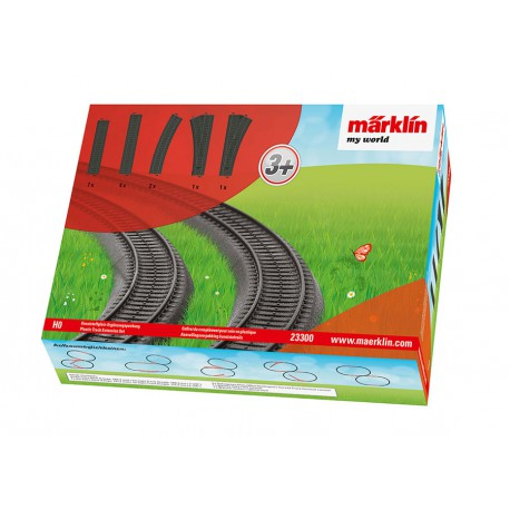 Marklin My World - Plastic Track Extension Set
