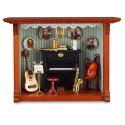 Miniatiūrų paveikslas - Muzikos kambarys