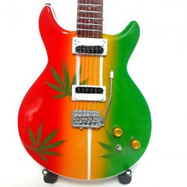 Mini Guitar Replica - Bob Marley