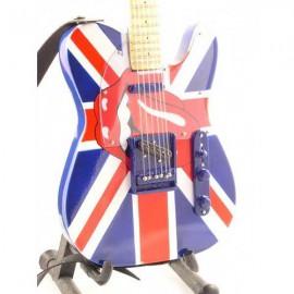 Mini Guitar Replica - Keith Richards, Rolling Stones