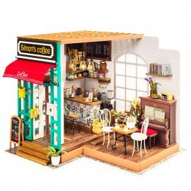 DIY Simon's Coffee Dollhouse Kit