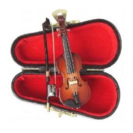 Smuikas su dėklu