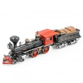 Laukinių Vakarų 4-4-0 lokomotyvas