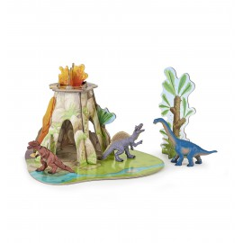 "MINI 3D ""The land of dinosaurs"""