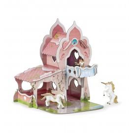 MINI 3D princesių pilis