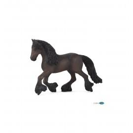 Fryzų žirgo figūrėlė