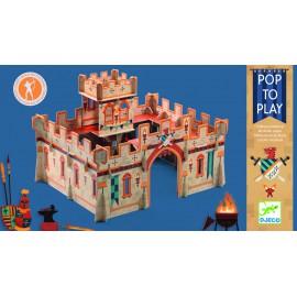 3D Viduramžių pilis