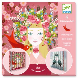 """Creative paper folding """"Lovely Queens"""""""