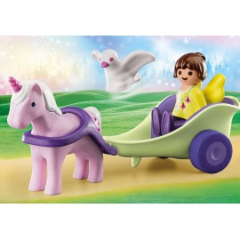 Carriage of a Unicorn with a Fairy