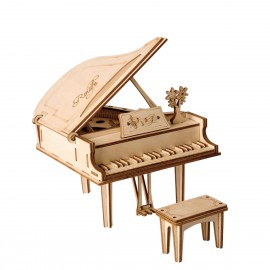 Wooden 3D Grand Piano puzzle