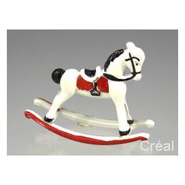 White Riding Horse