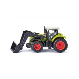 Claas Axion with front loader