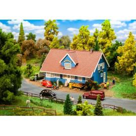 Švedijos kaimo parduotuvė