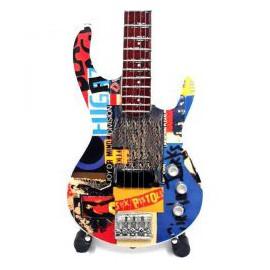 Mini Guitar Replica - Red Hot Chili Peppers