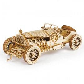 Medinė 3D automobilio dėlionė