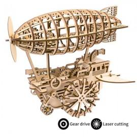 Medinė 3D orlaivio dėlionė