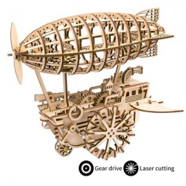 Wooden 3D Air Vehicle puzzle