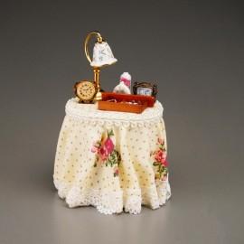 Bedside table decorated - Rose Design